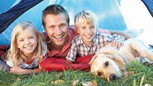 Melbourne pet friendly camping